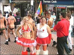 Birmingham gay pride festival, 2004