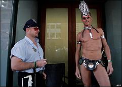 Sydney gay pride parade, 2008.